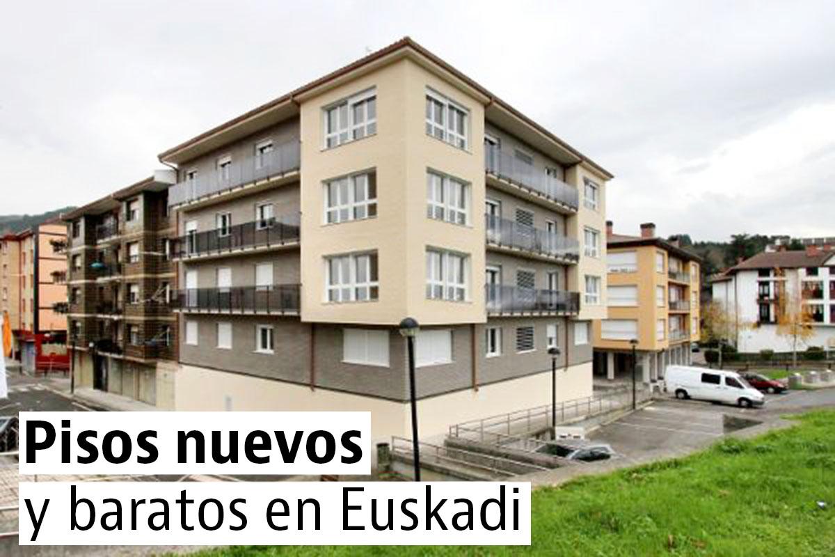 Los pisos nuevos m s baratos del pa s vasco idealista news for Pisos baratos en torrijos