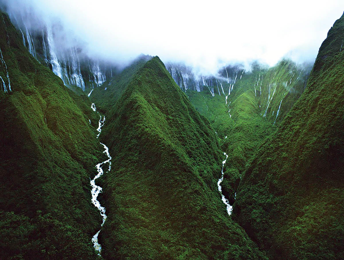 Cascada en Honokohau National Park (Hawaii, EEUU)