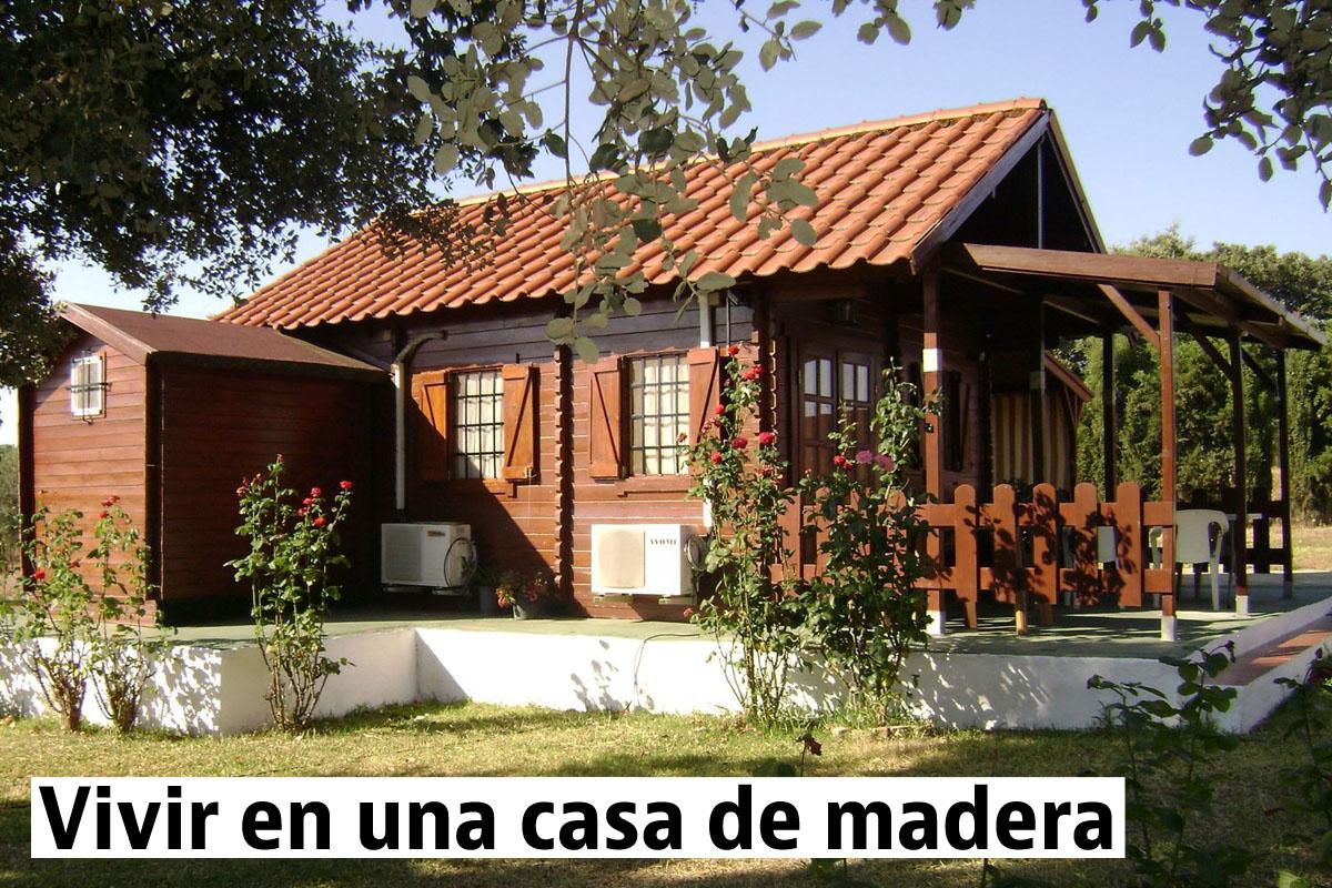 Casas de madera prefabricadas en venta idealista news for Foro casas de madera