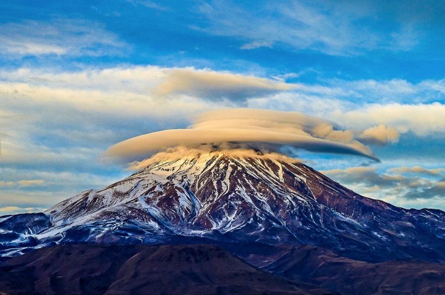 Monte Damavend (Irán). Ashkan Razavi