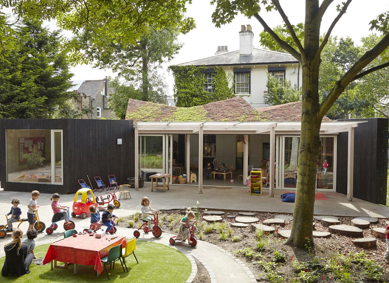 Kindergarten Yard Design: Las Guarderías Más Bonitas Del Mundo: 15 Escuelas