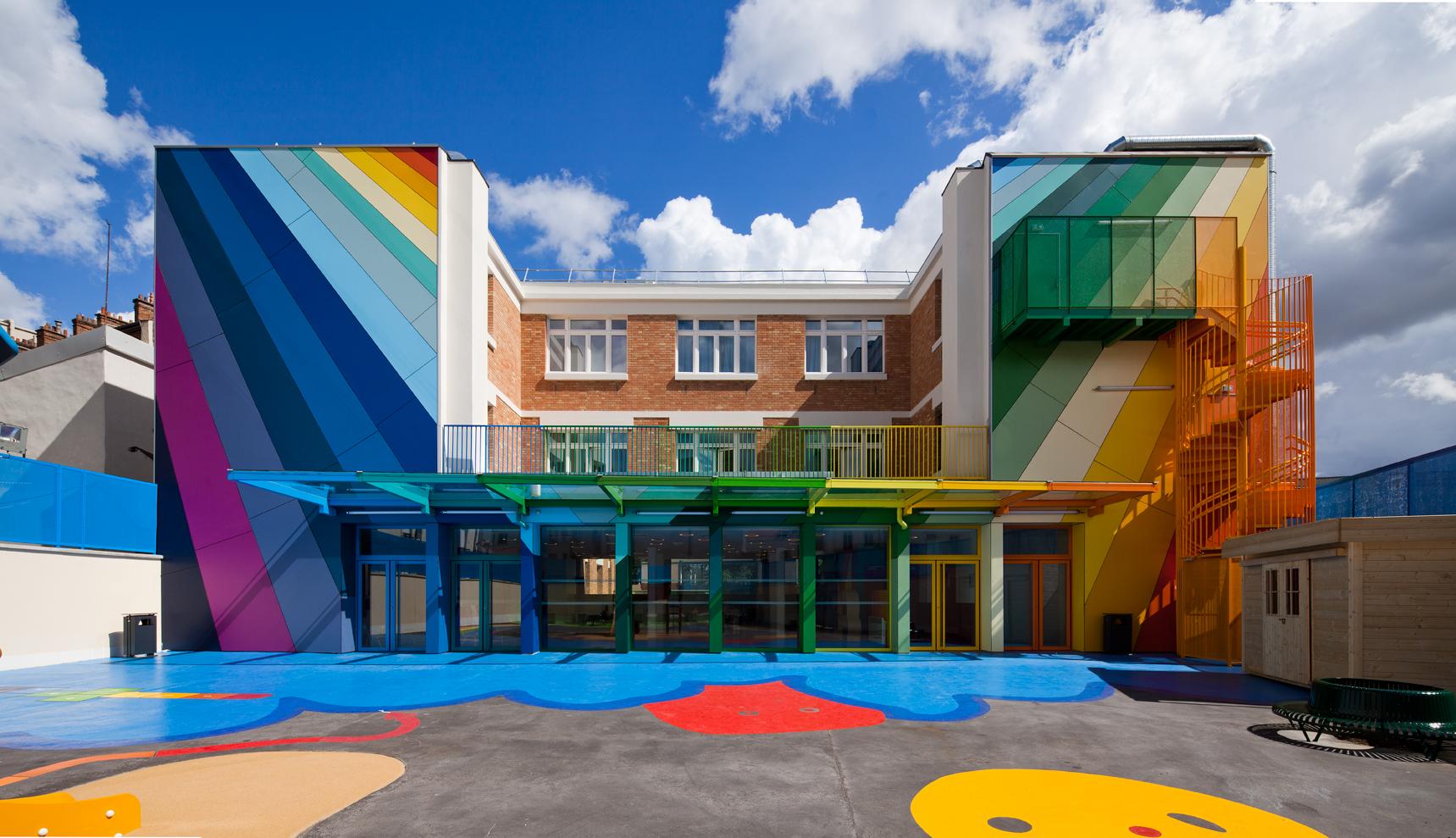 Las guarder as m s bonitas del mundo 15 escuelas for Arquitectura de interiores universidades