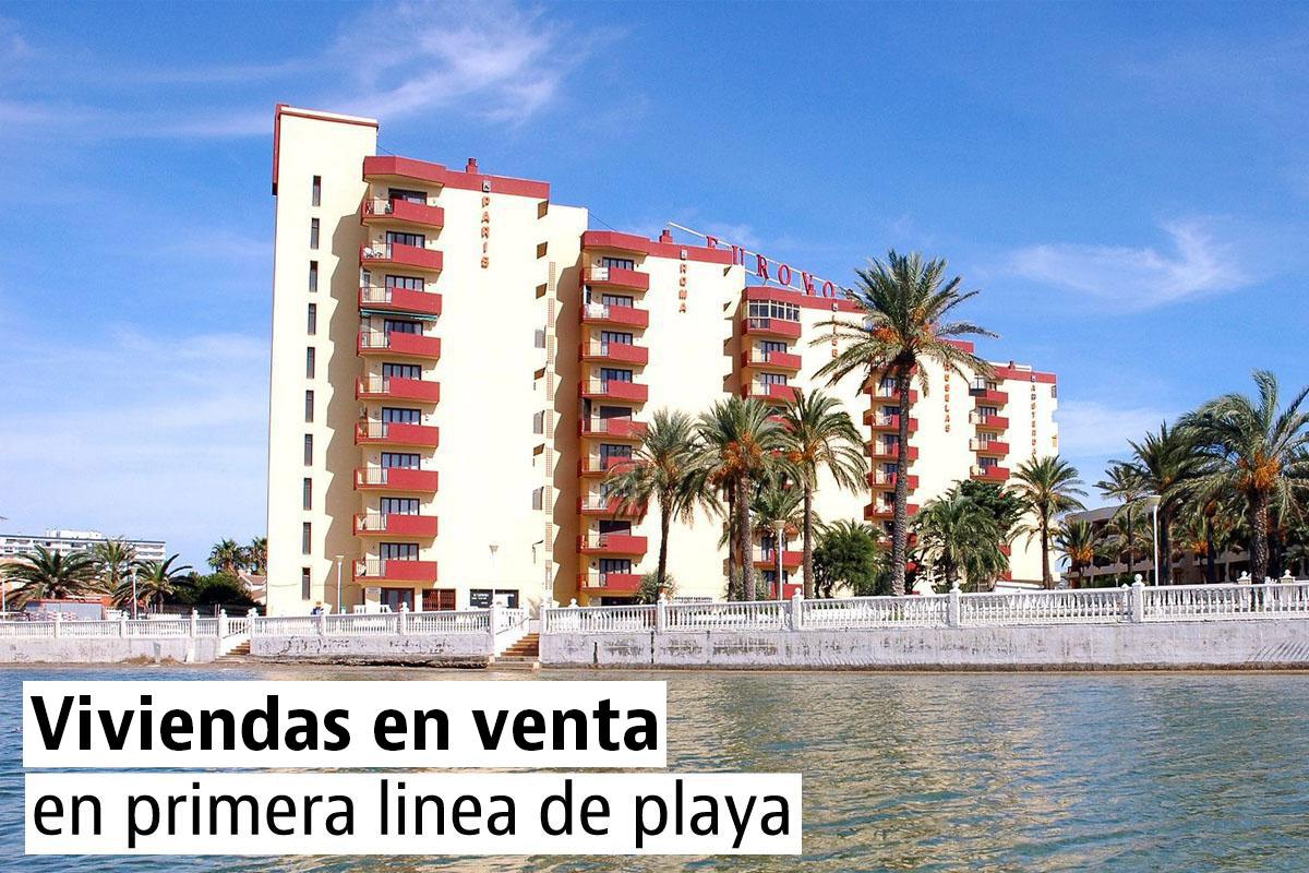 Apartamentos en venta en primera línea de playa por menos de 100.000 euros