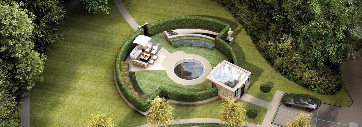 Eso que ves no es una simple piscina, es la entrada secreta a una espectacular mansión subterránea