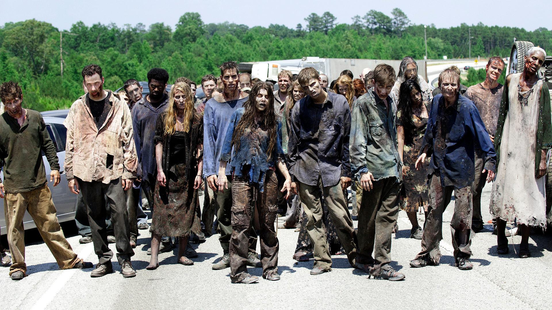Zombies caminantes