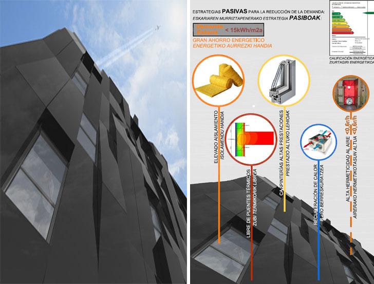 Bilbao contará con el edificio pasivo más alto del mundo
