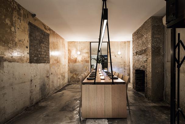 Restaurante de diseño en Australia