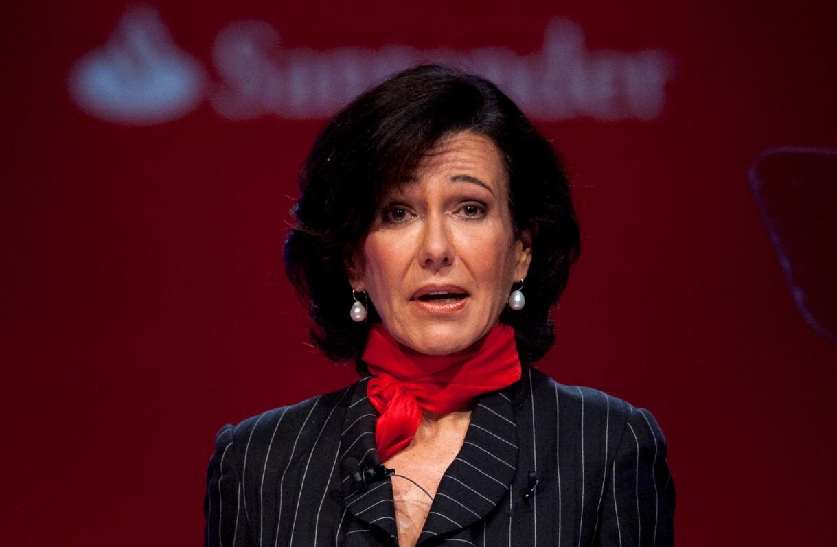Ana Botín presidenta del Banco Santander