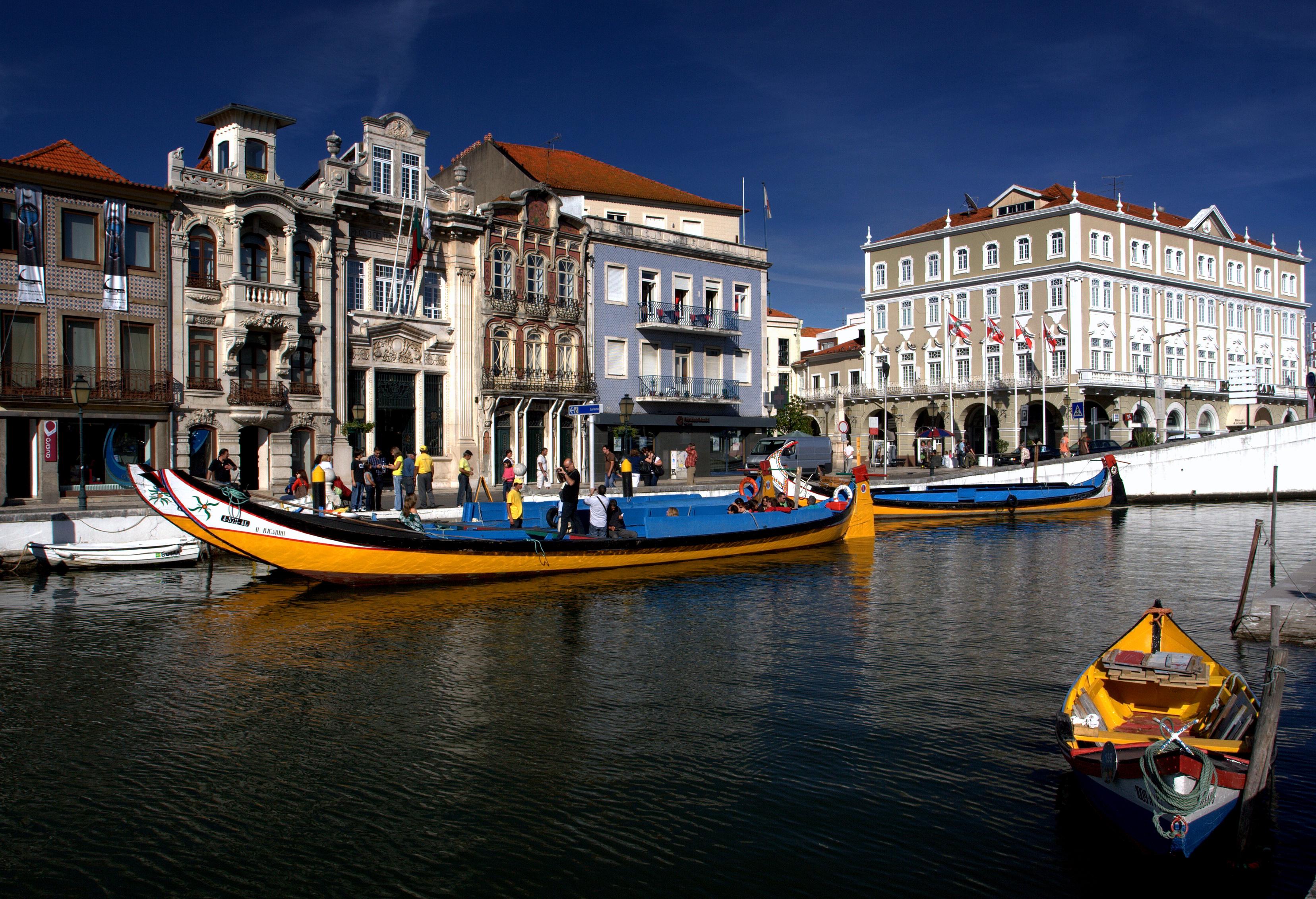 Gondolas en Aveiro