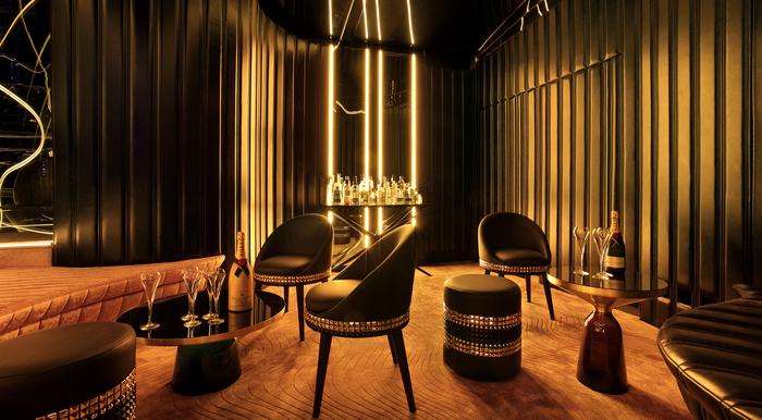 Interior de un restaurante de diseño australiano
