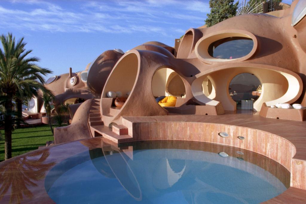 habitaciones con forma de burbujas