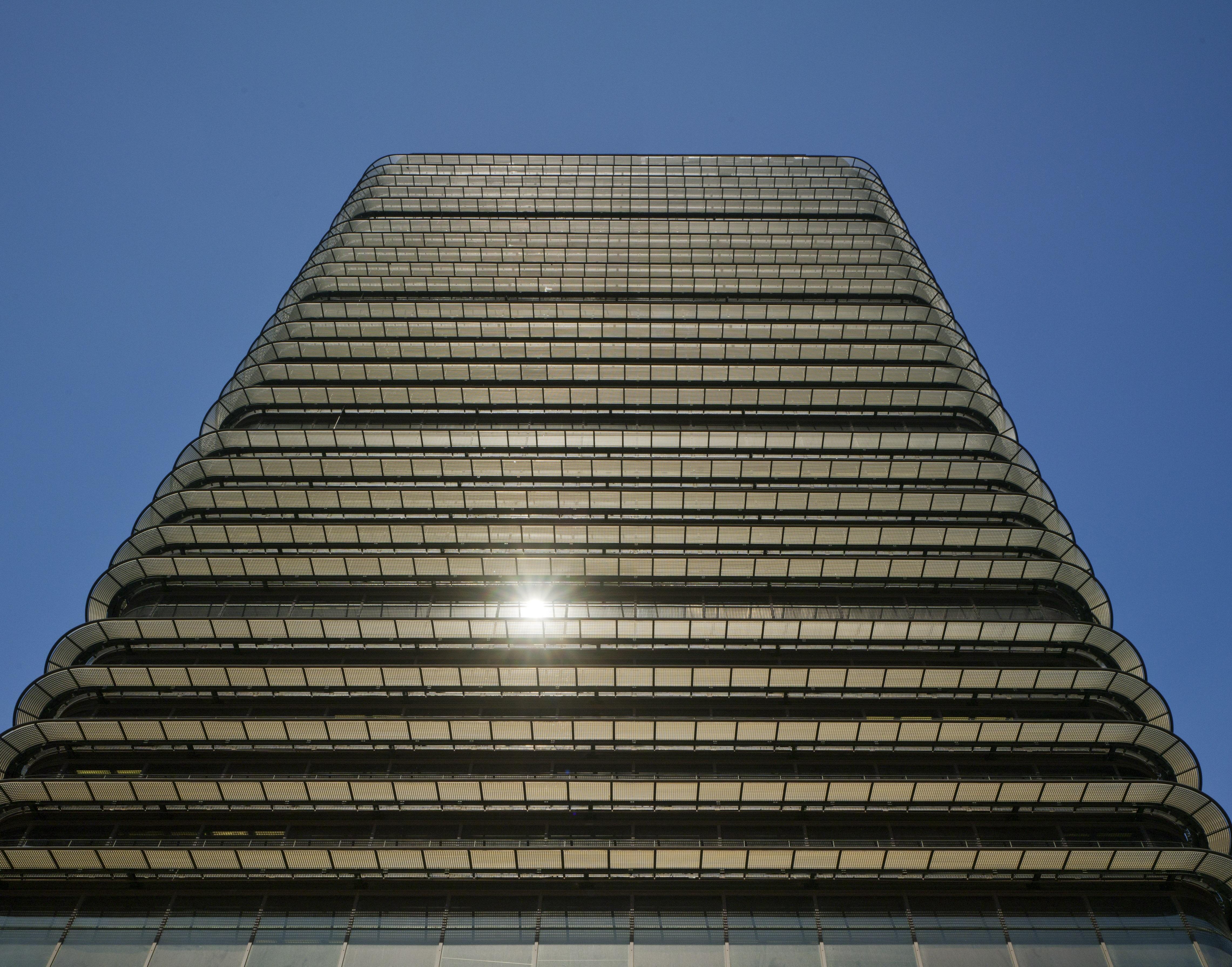 fachada de la Torre BBVA