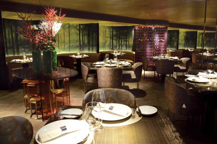 Restaurante de diseño chino