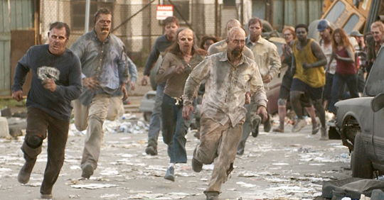 Zombies corriendo