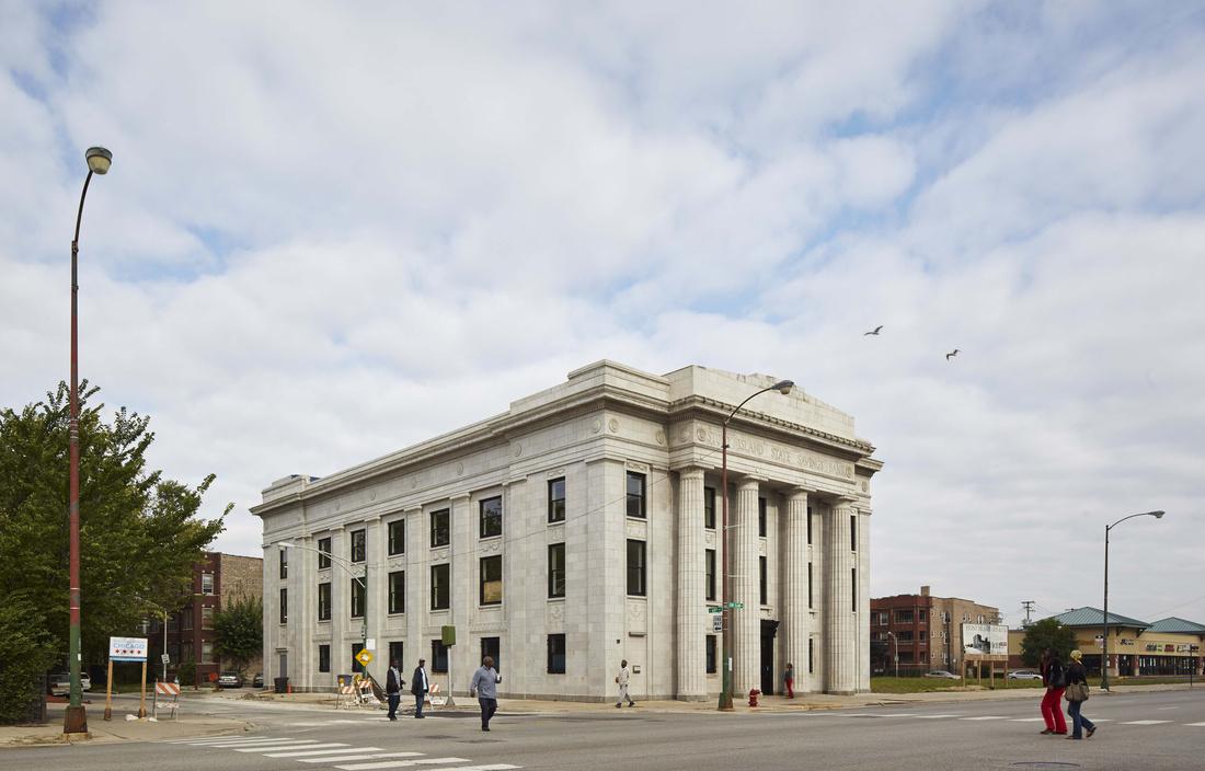 El banco transformado en centro comunitario y artístico