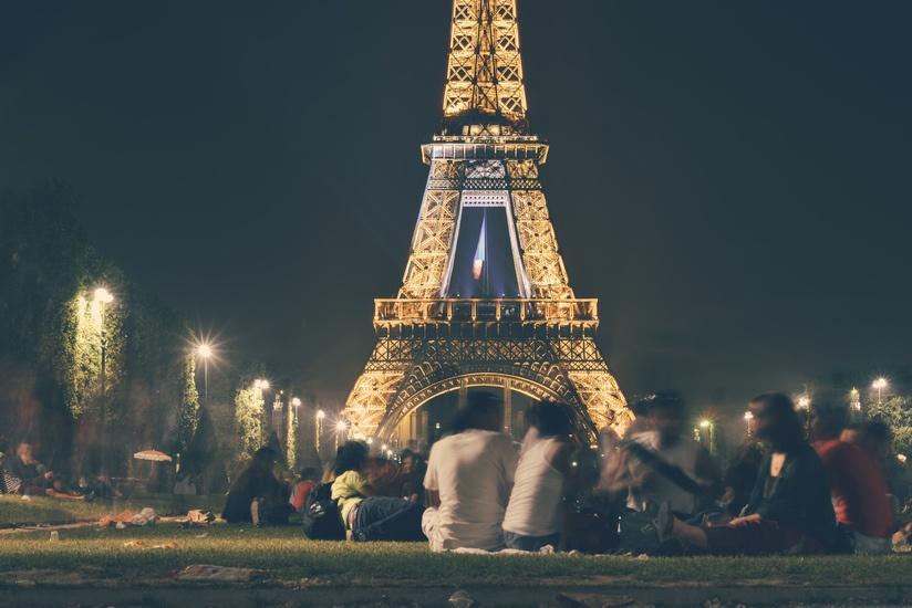 Una espectacular imagen de la Torre Eiffel