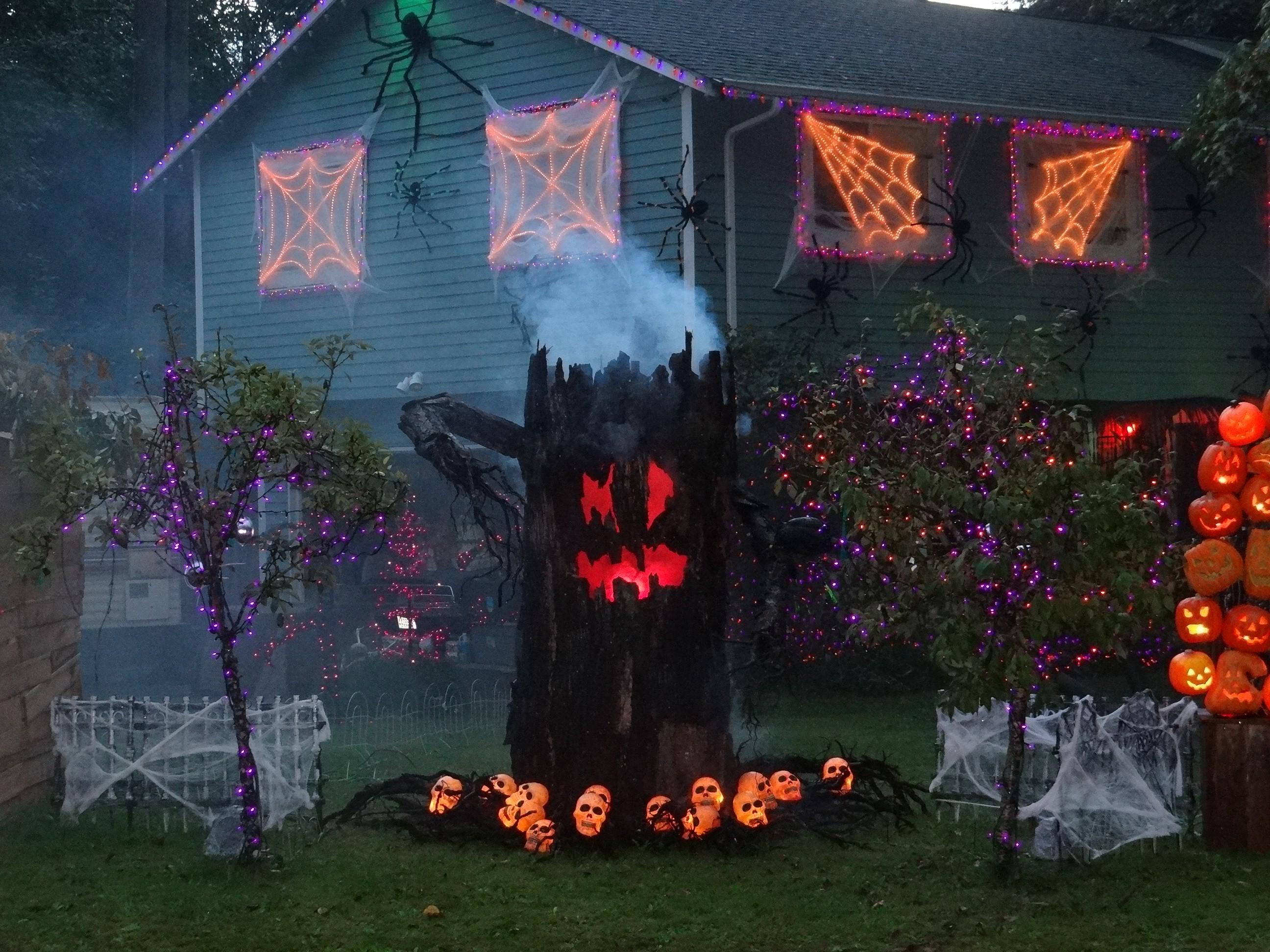 Casa embrujada para Halloween