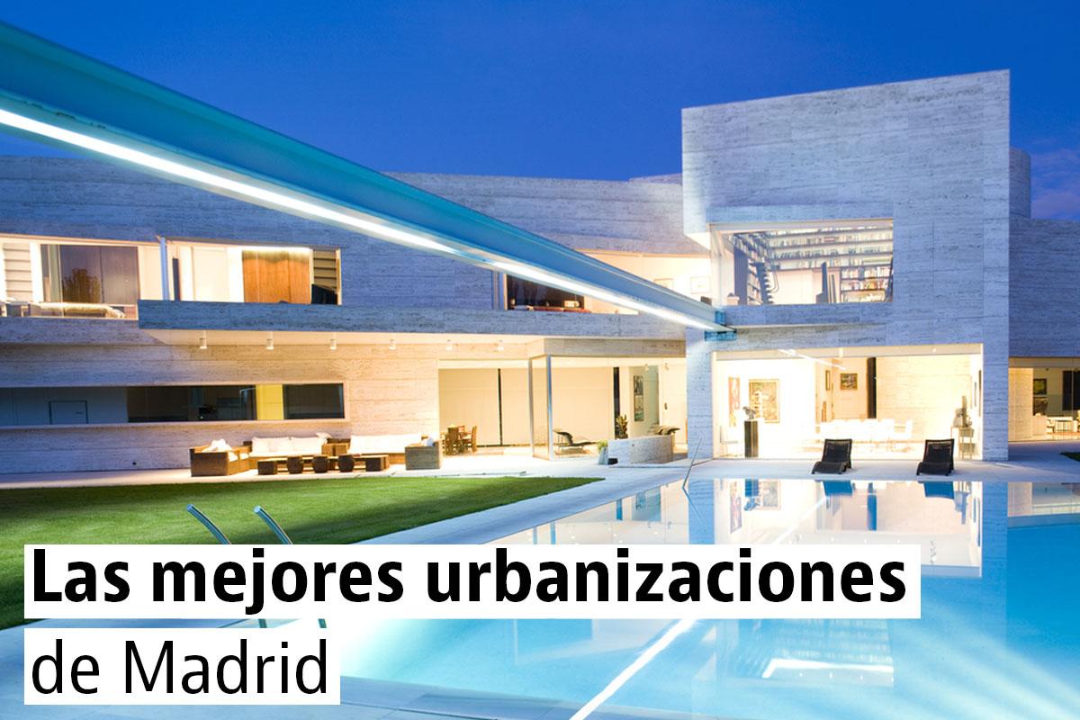 Las urbanizaciones de chalets más caras de Madrid