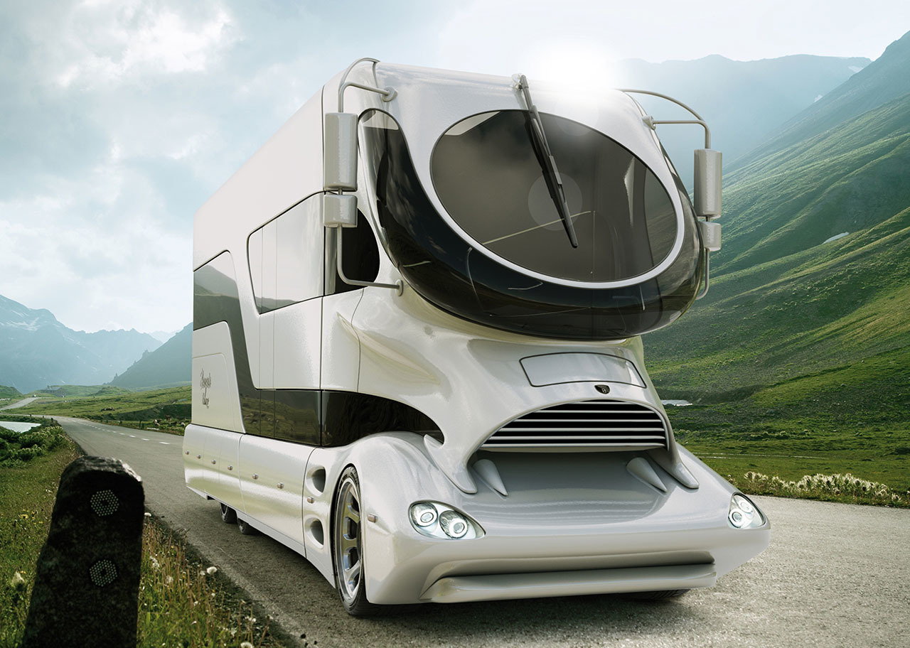 autocaravana de estilo moderno