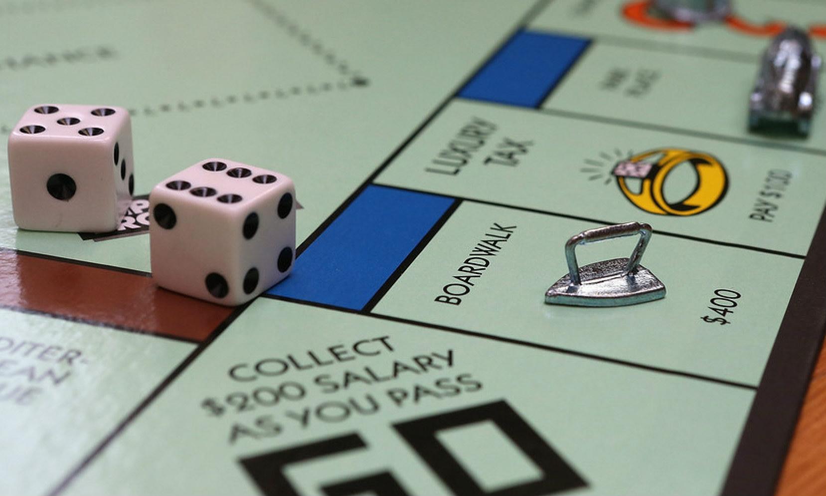 el juego de mesa Monopoly