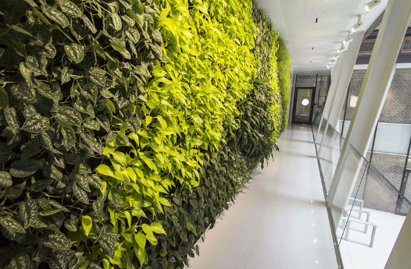 Imagen de uno de los mejores edificios sostenibles de Europa