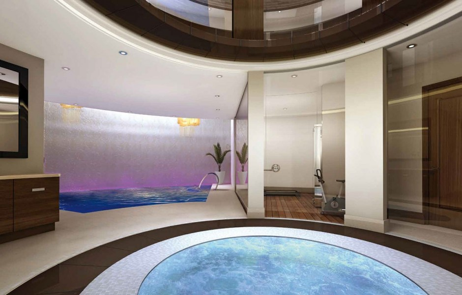 Eso que ves no es una simple piscina es la entrada for Habitaciones con piscina dentro