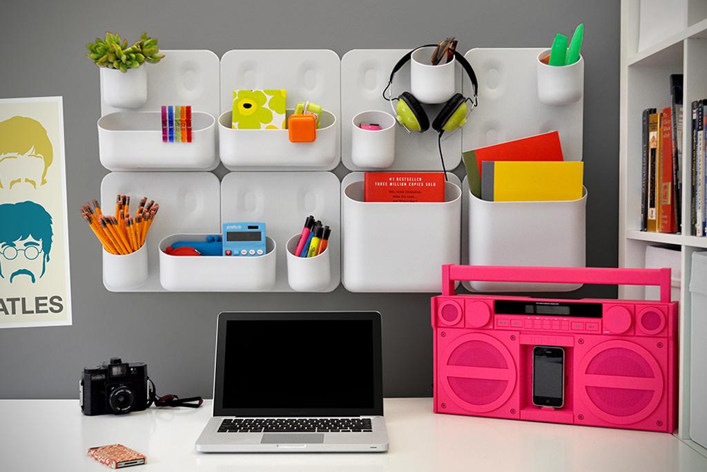 Decorar la oficina con colores