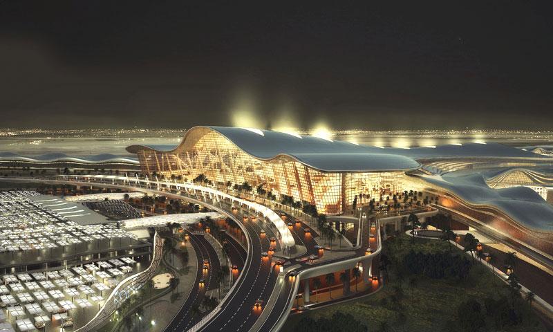 El aeropuerto internacional de Dubai