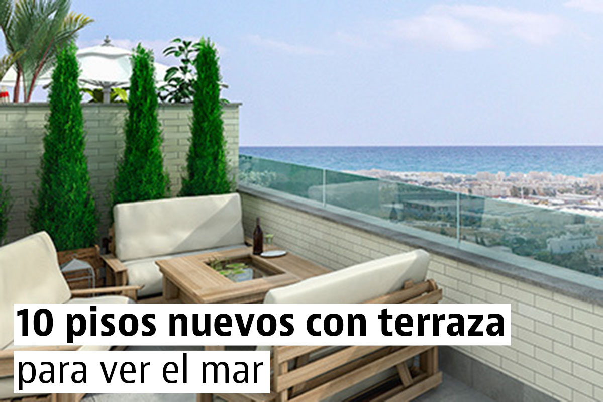 Los mejores pisos nuevos con vistas al mar de Andalucía