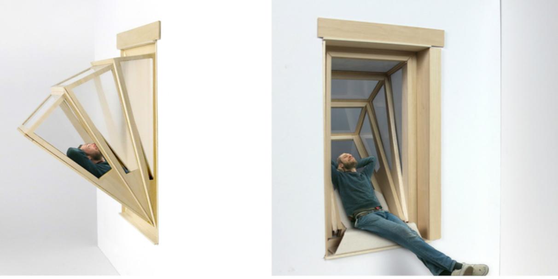La ventana que se convierte en balcón