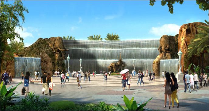 Parque de atracciones en Guangzhou