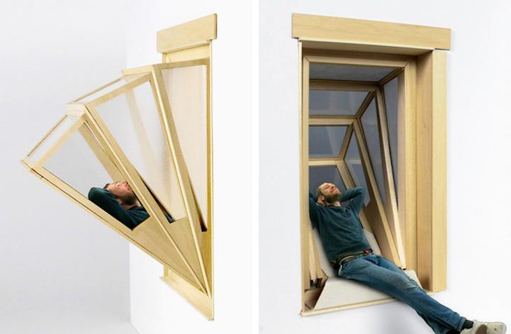Cómo convertir una simple ventana en un balcón