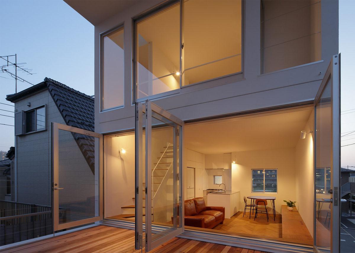 vivienda de estilo minimalista en Japón