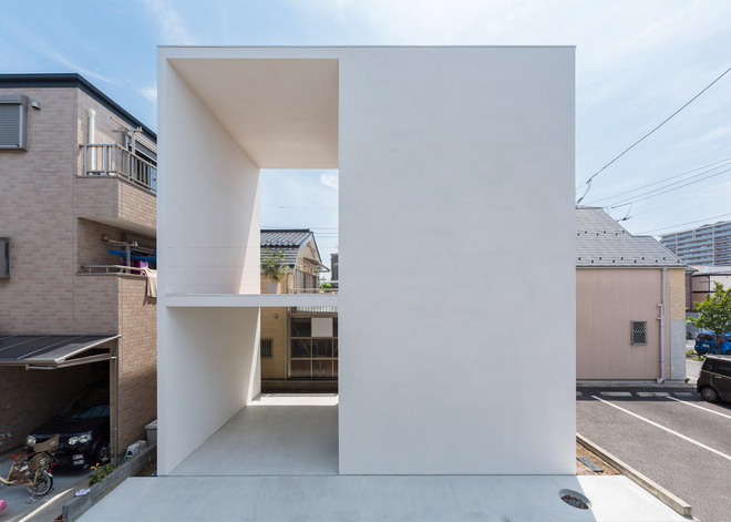 Baño Invisible Japon:Japanese Terrace House