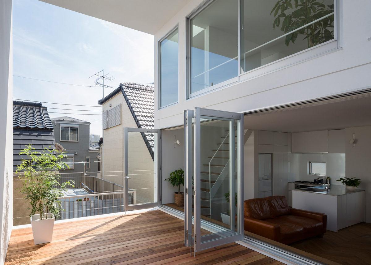 Casas de ensue o una vivienda de estilo minimalista con for Interiores de casas minimalistas 2015