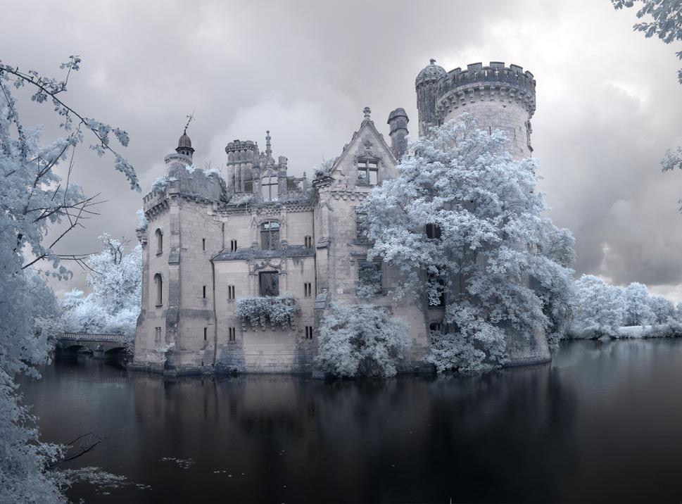 Castillo abandonado en Francia