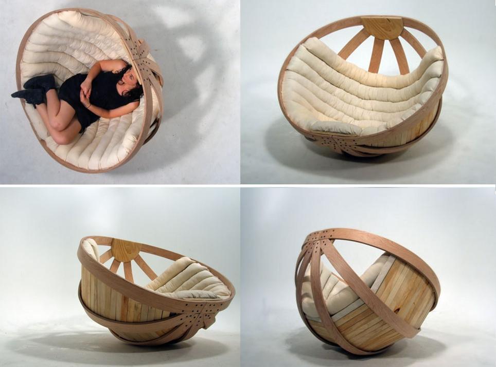 Cradle chair, una silla de diseño