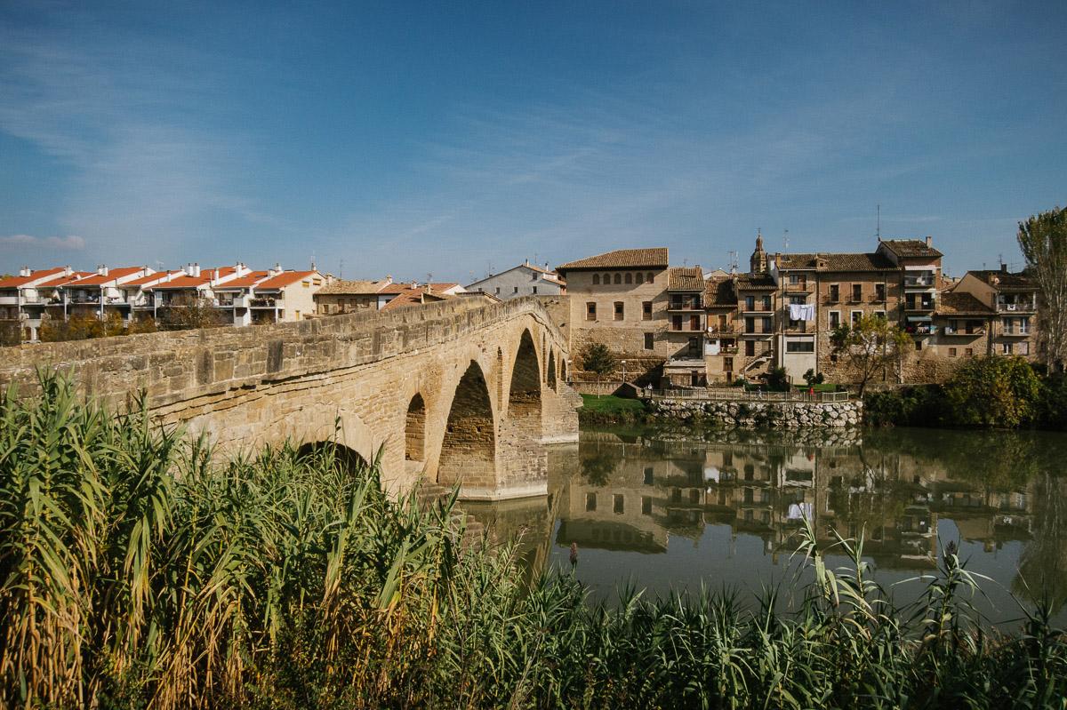 Camino de Santiago Francés Puente de la Reina Navarra