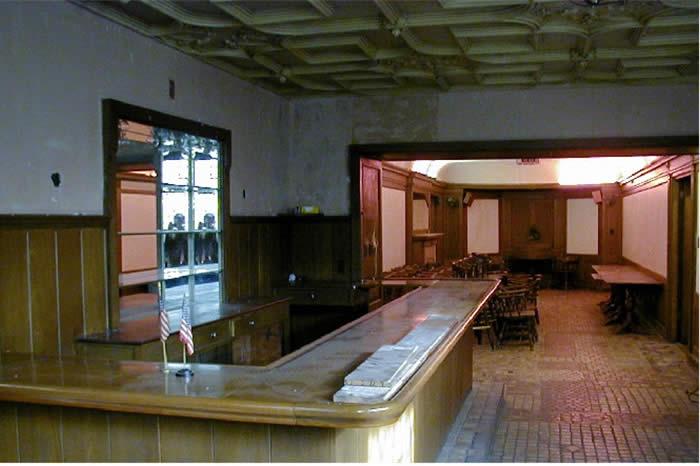 Interior de la casa de lujo en EEUU