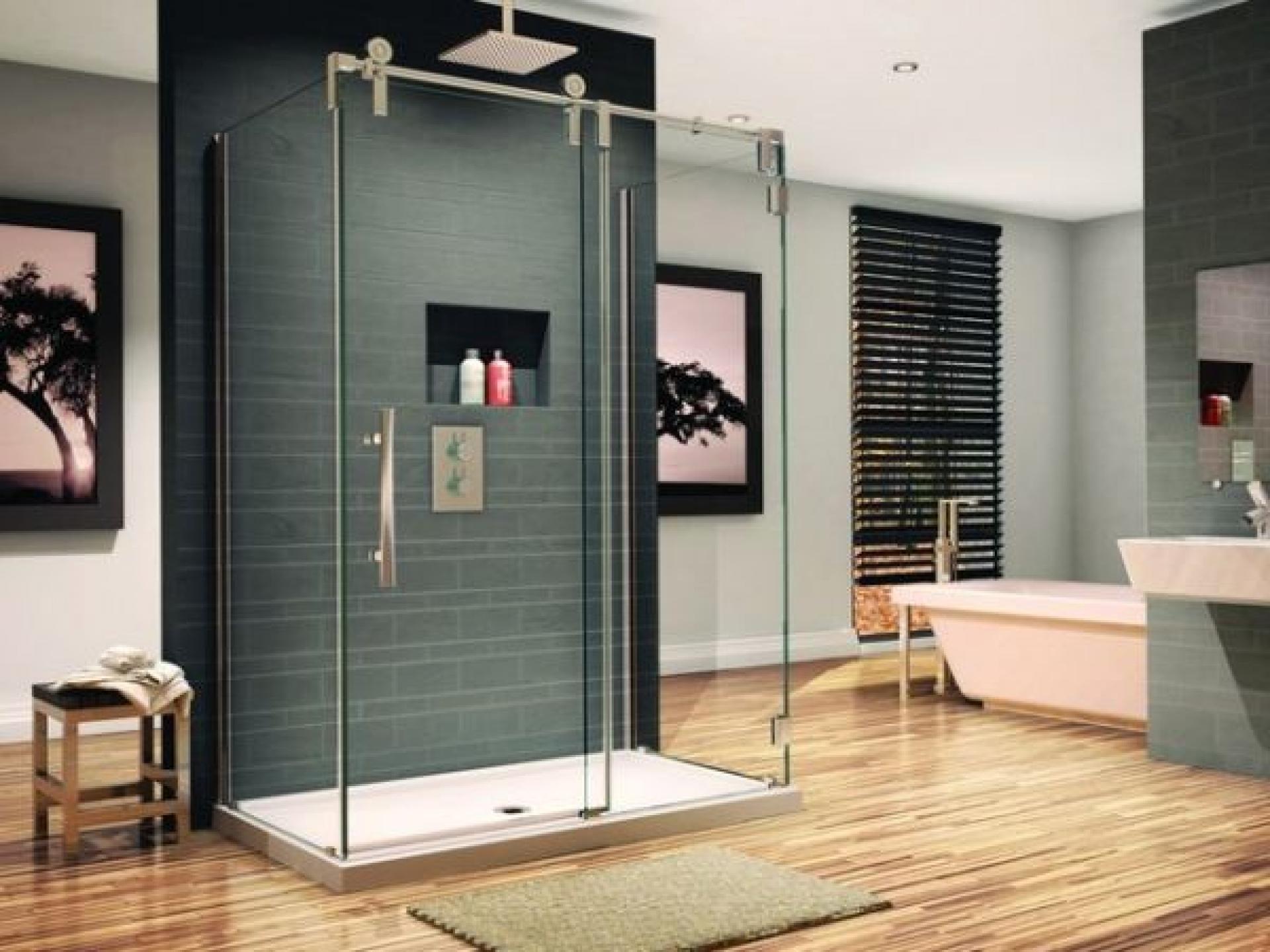 ducha de diseño para decorar el baño