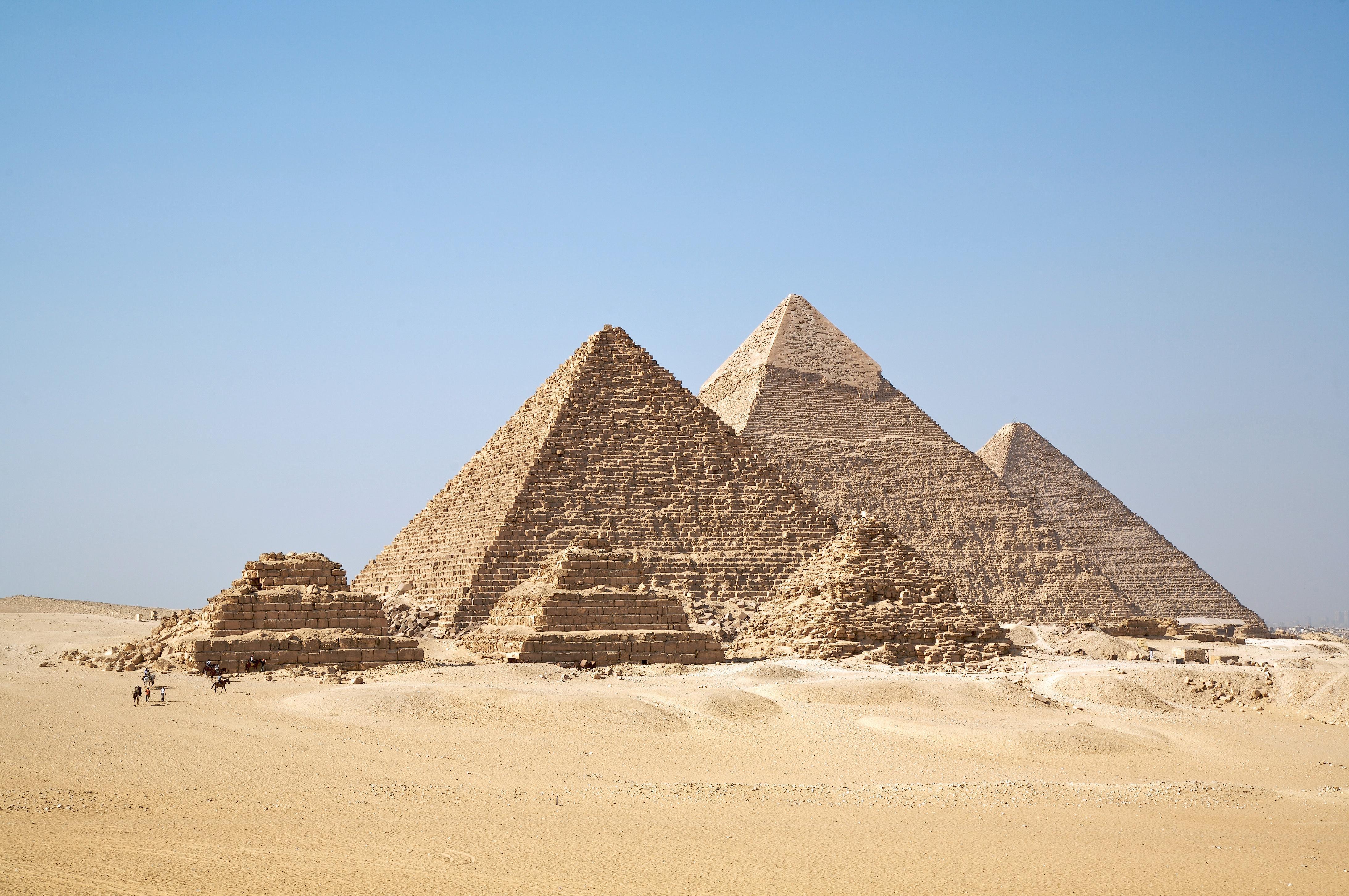Pirámides egipcianas