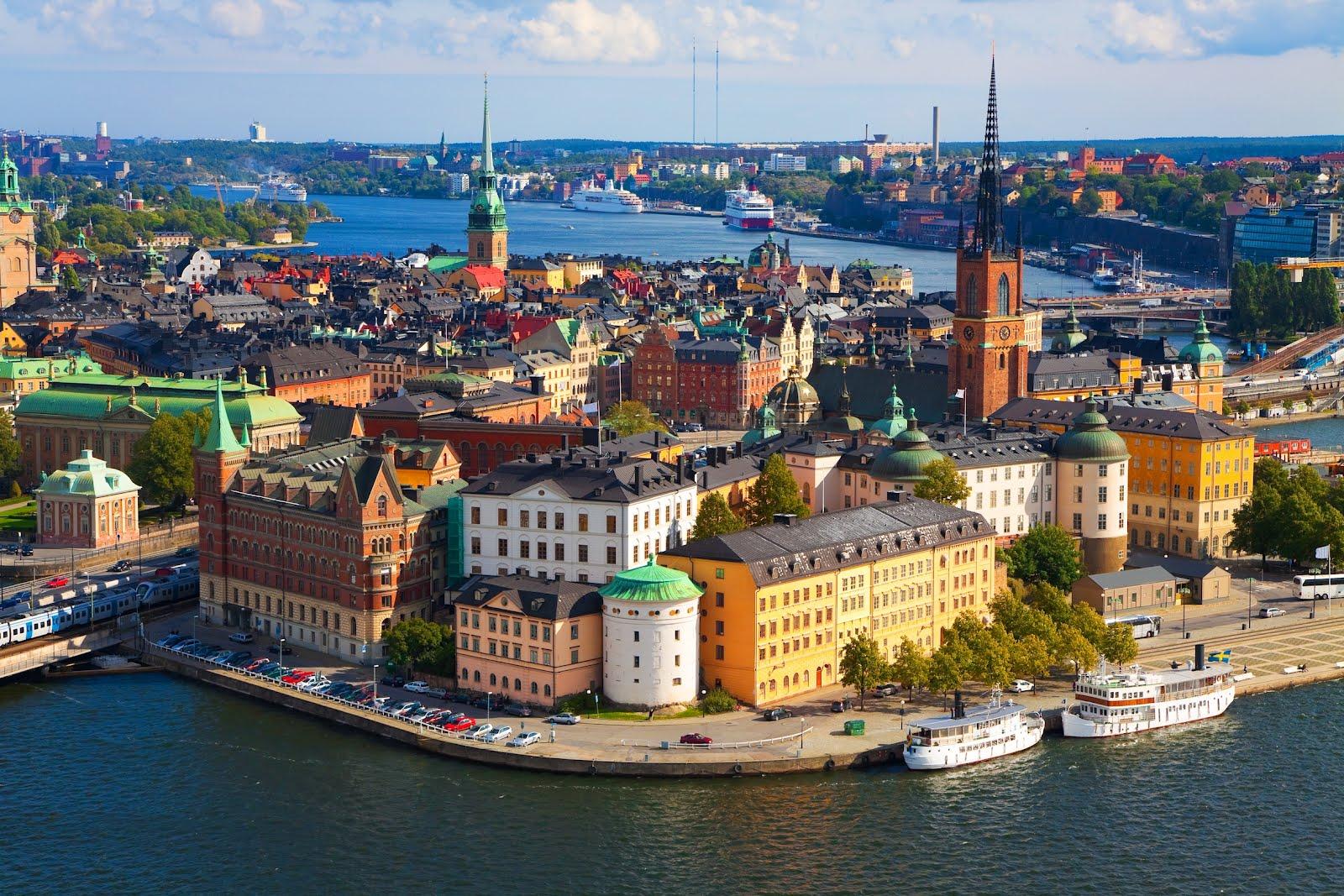 Una preciosa imagen de Estocolmo