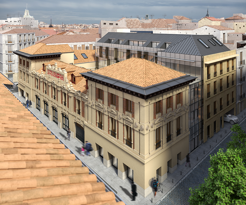 Una vivienda de lujo en Madrid