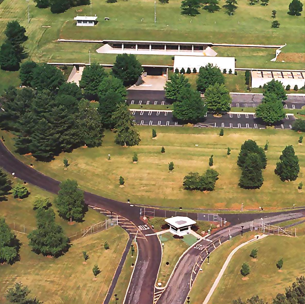 El complejo bajo tierra en EEUU