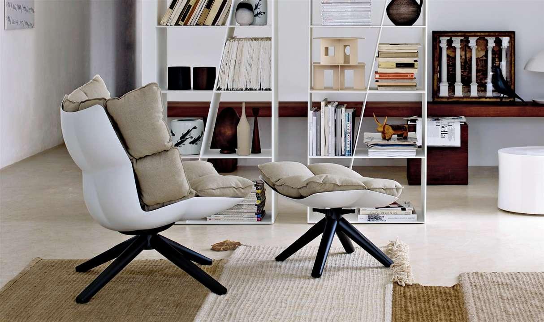 Husk armchair, sillas creadas con plástico reciclado