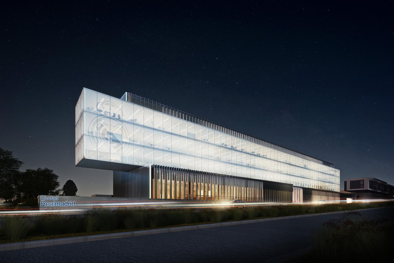 la nueva sede del Real Madrid