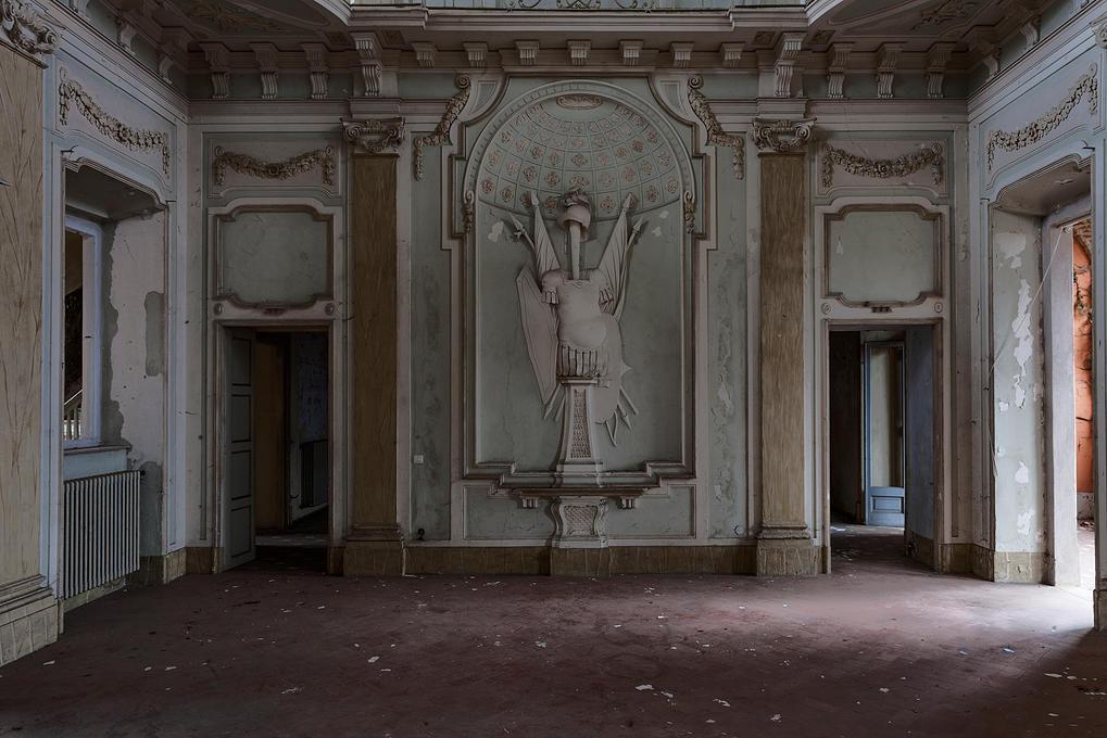 Mansiones abandonadas entre la belleza y el terror - Casas antiguas por dentro ...