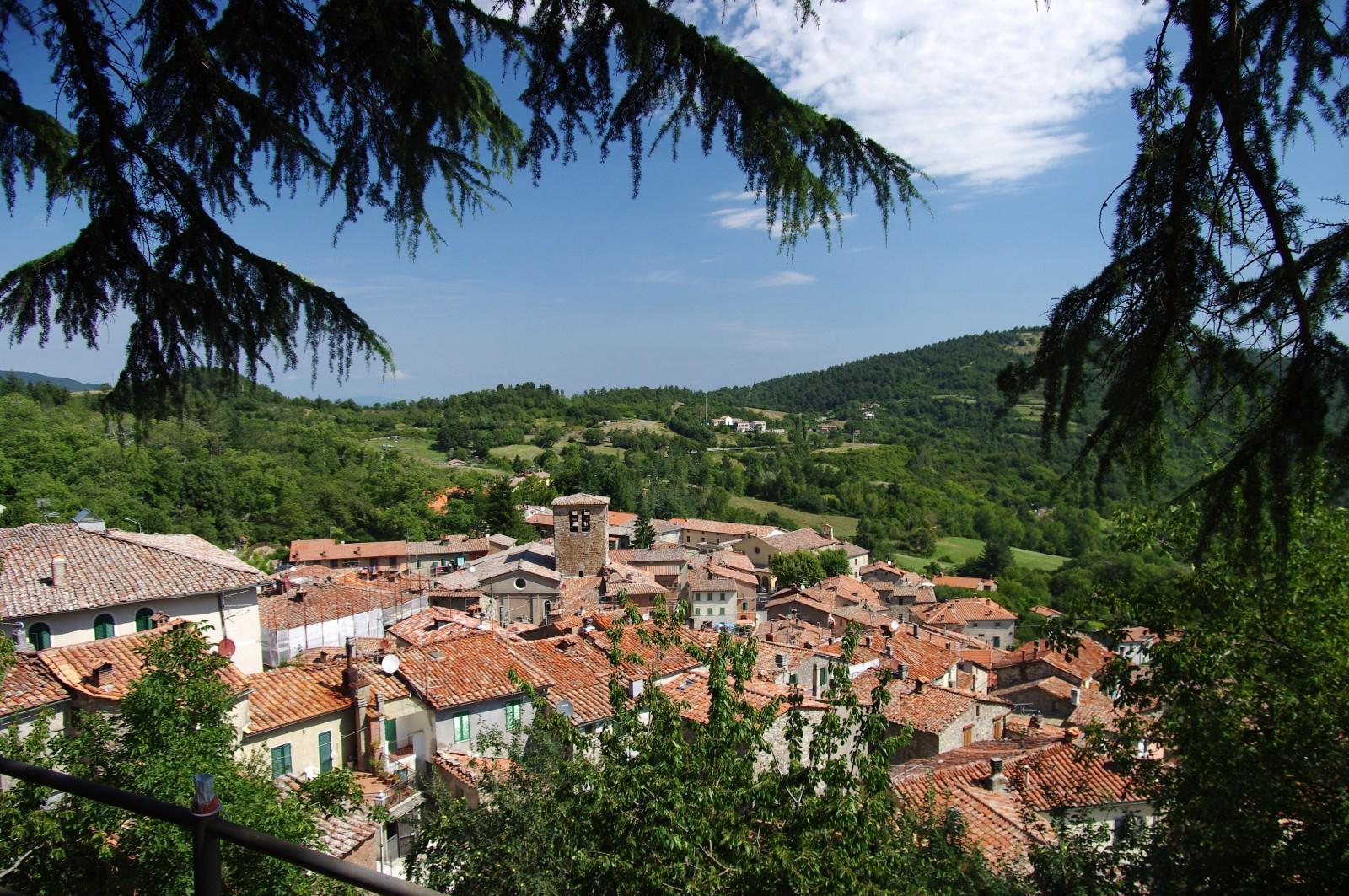 Una imagen del característico pueblo italiano