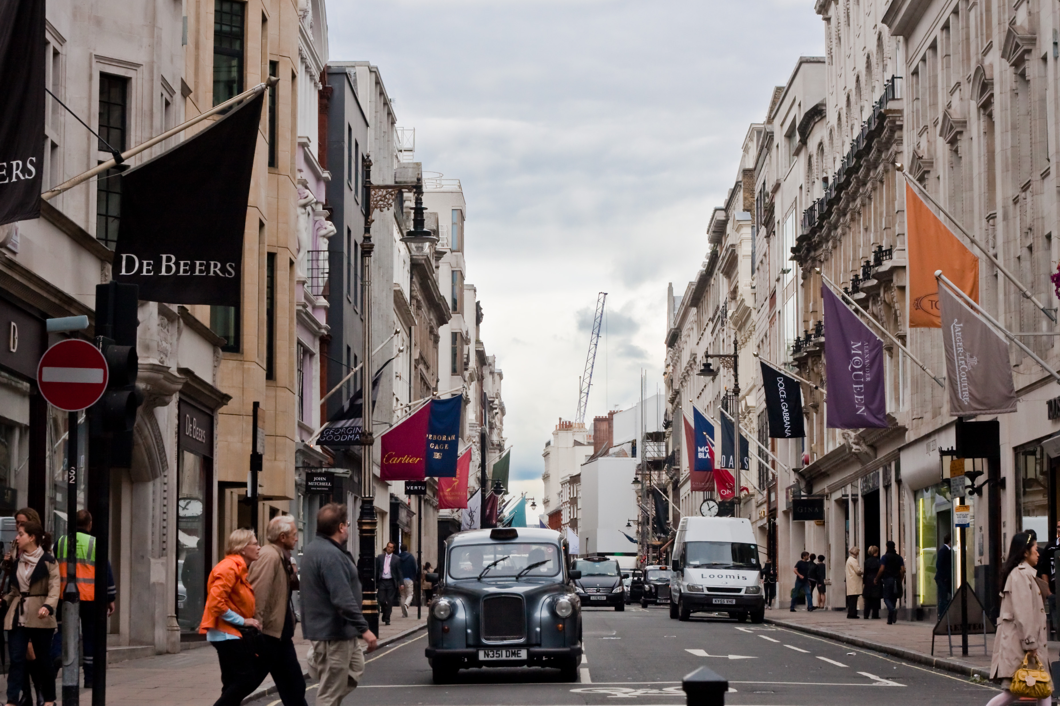 New Bond Street en Londres