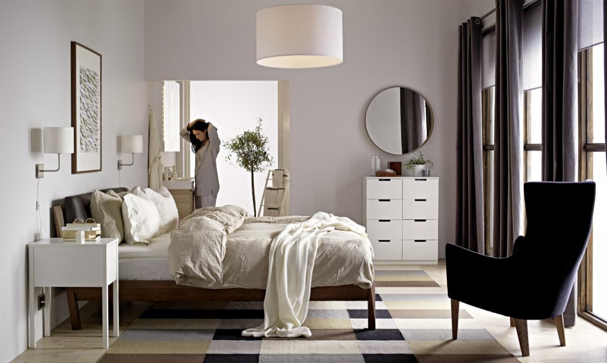 El típico estilo escandinavo de los muebles de Ikea